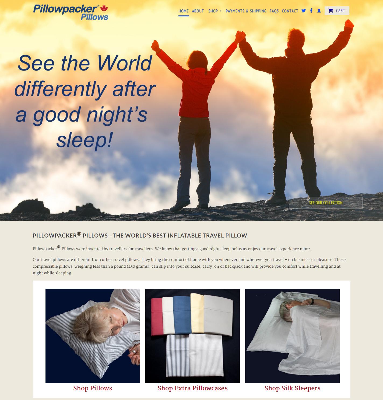 Pillowpacker® Pillows
