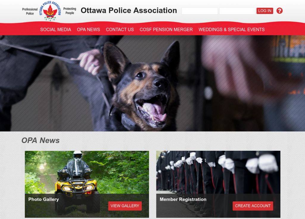 Ottawa Police Association Homepage (https://www.ottawapa.ca)