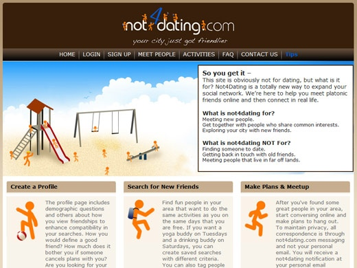 Website to meet friends not dating