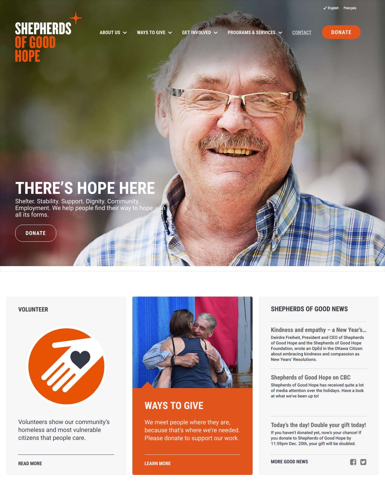 Shepherds of Good Hope Home Page (https://www.sghottawa.ca)