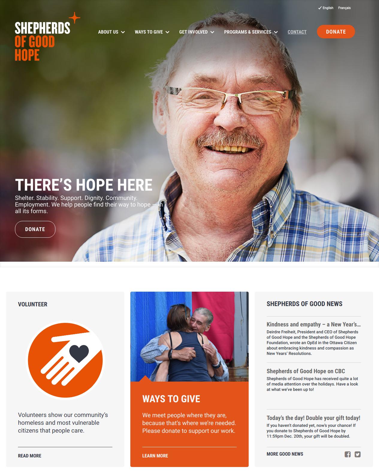 Shepherds of Good Hope Home Page (https://www.sghottawa.ca)