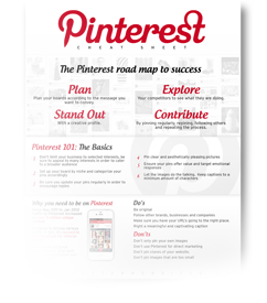 Pinterest Beginner Guide & Cheat Sheet